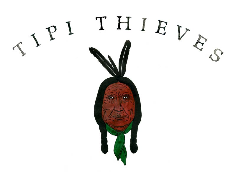 Tipi Thieves - Artwork